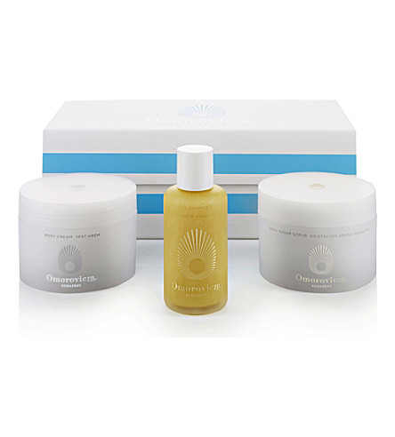 OMOROVICZA Gold body gift set