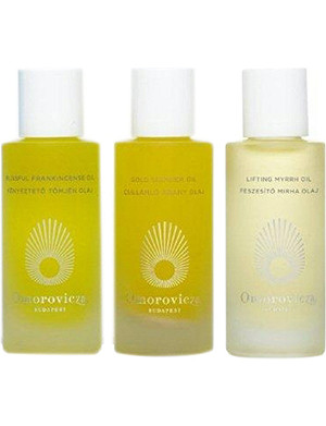OMOROVICZA Blissful Oils gift set 3x30ml