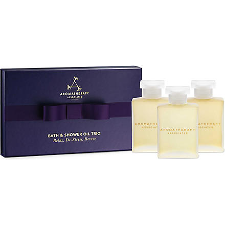 AROMATHERAPY ASSOCIATES Bath & shower oil trio
