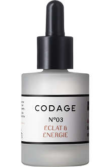 CODAGE Serum N°3 radiance and energy