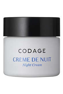 CODAGE Nuit nutritive night cream regenerating and detoxifying
