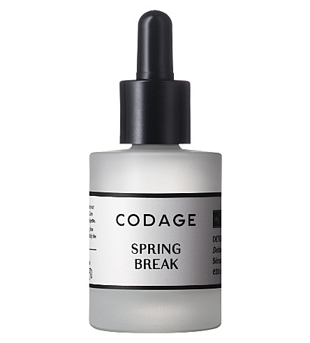 CODAGE Spring Break face serum