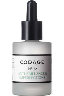 CODAGE Serum N°2 mattifying and repairing