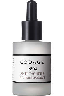 CODAGE Serum N°4 antispot and lightener