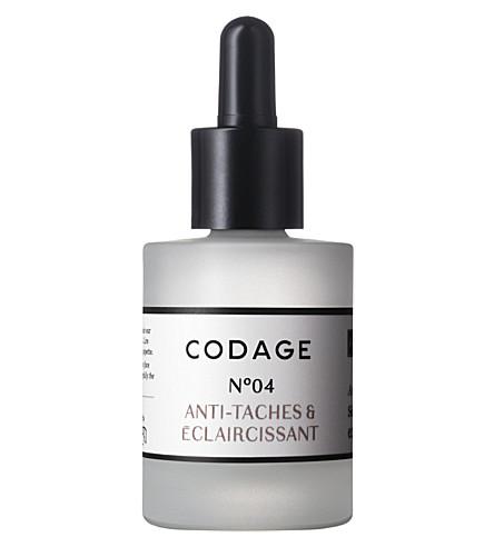 CODAGE Serum N°4 antispot and lightener