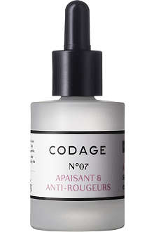 CODAGE Serum N°7 soothing and anti-redness