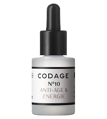 CODAGE Serum N°10 energy and anti-aging
