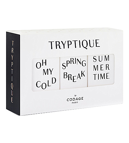 CODAGE Tryptique seasonal skin care gift set
