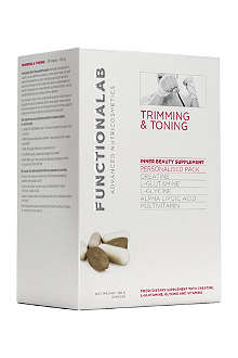 FUNCTIONALAB Trimming and toning personalised pack