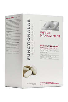 FUNCTIONALAB Weight management personalised pack