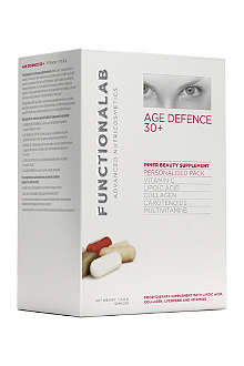 FUNCTIONALAB Age defense 30+ personalised pack