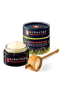 ERBORIAN Ginseng infusion night creme