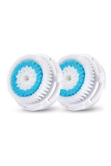 CLARISONIC Deep pore cleansing brush head twin pack