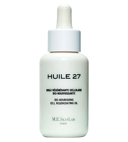 COSMETICS 27 Huile 27 bio-nourishing cell regenerating oil 50ml