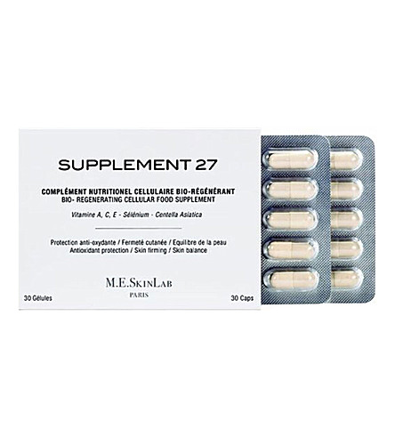 COSMETICS 27 Supplement 27 bio-regenerating cellular food supplement 30 caps