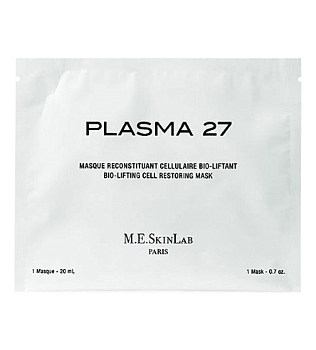 COSMETICS 27 Plasma 27 bio-lifting cell restoring mask 4x20ml