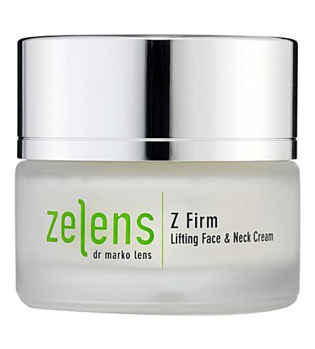ZELENS Z 公司升降面颈部乳霜50毫升