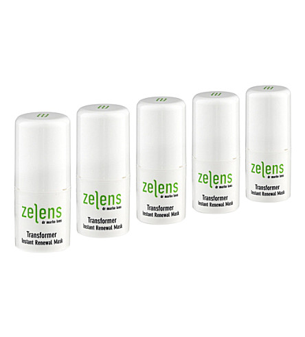 ZELENS Transformer Instant Renewal mask 5x5ml