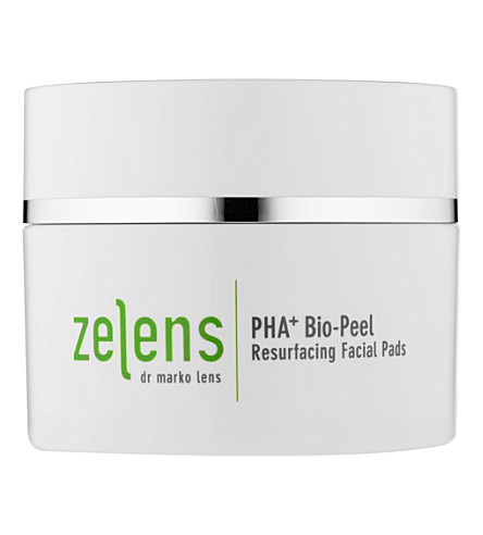 ZELENS PHA+ Bio-Peel resurfacing facial pads