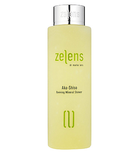 ZELENS Aka-Shiso reviving mineral shower wash 200ml