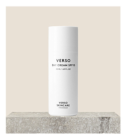 VERSO Day cream SPF 15 50ml