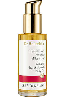 DR HAUSCHKA Almond St. John's wort body oil 75ml