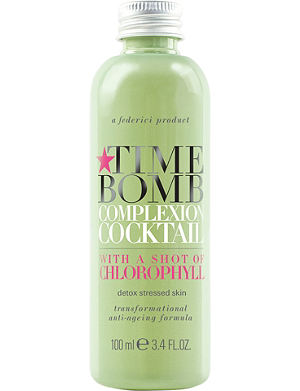 TIME BOMB Complexion Cocktail with a shot of Chlorophyll 100ml