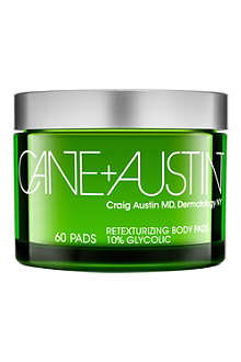 CANE + AUSTIN Retexturizing treatment 60 pads
