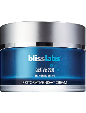 BLISS Active 99.0 anti-ageing series restorative night cream