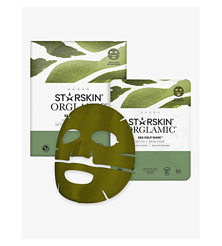 STARSKIN Detoxing Sea Kelp Leaf Face Mask
