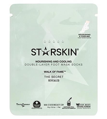 STARSKIN Walk of Fame foot mask