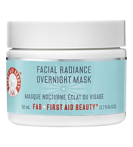 FIRST AID BEAUTY Facial Radiance overnight mask 50ml
