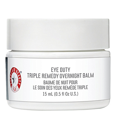 FIRST AID BEAUTY Eye Duty triple remedy overnight balm 10ml