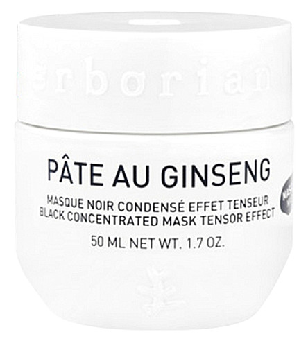 ERBORIAN Pâte au Ginseng Black Concentrated Mask 50ml