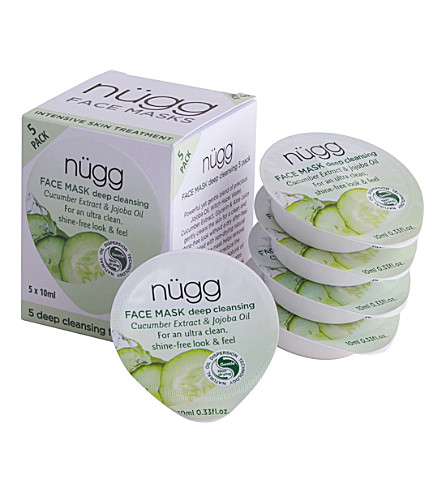 NUGG Deep Cleansing Face Masks