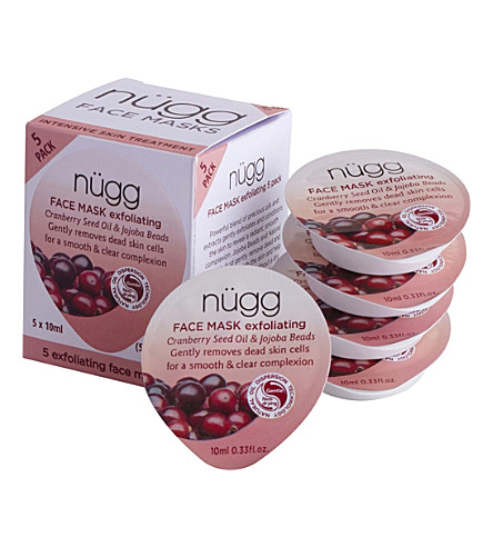 NUGG Exfoliating Face Masks