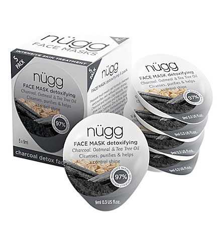NUGG Charcoal Mask 5 Pack