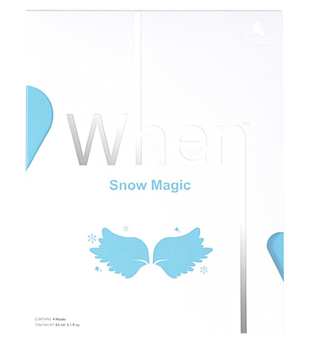 When Snow Magic 面膜
