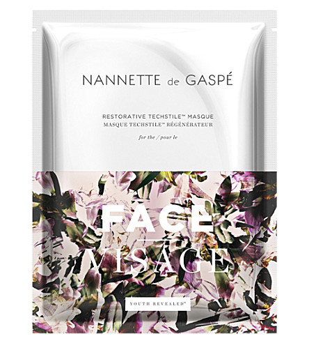NANNETTE DE GASPE Restorative Techstile Face Masque