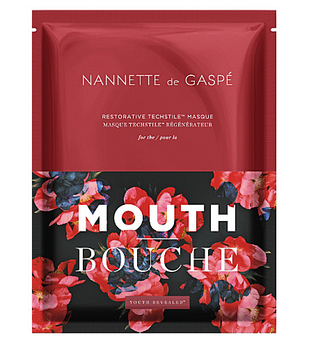 NANNETTE DE GASPE Restorative Techstile mouth masque