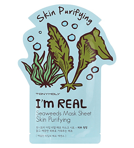 TONY MOLY I'm Real skin purifying seaweed face mask