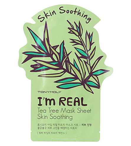 TONY MOLY I'm real tea tree sheet mask