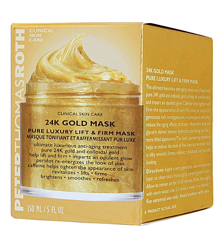 PETER THOMAS ROTH 24k gold anti-aging mask 150ml