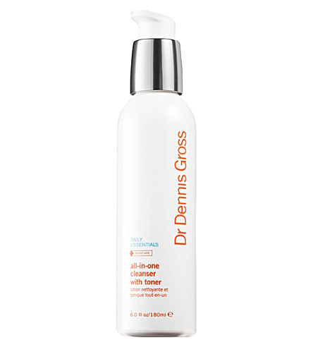 DR DENNIS GROSS SKINCARE All-in-One Cleanser with Toner 180ml