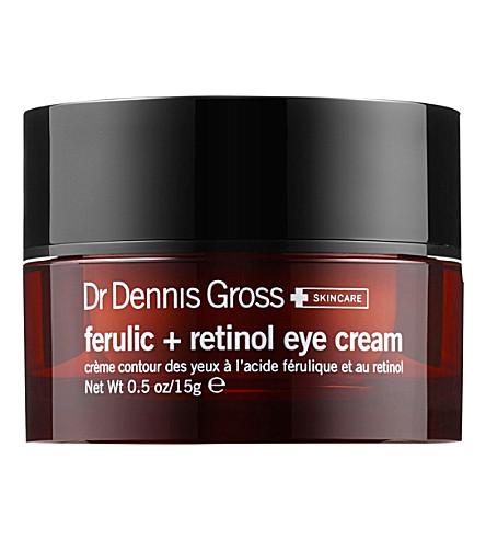 DR DENNIS GROSS SKINCARE 阿魏眼霜和视黄醇15毫升
