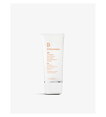 DR DENNIS GROSS SKINCARE Dark Spot Sun Defense Broad Spectrum Sunscreen SPF 50 50ml