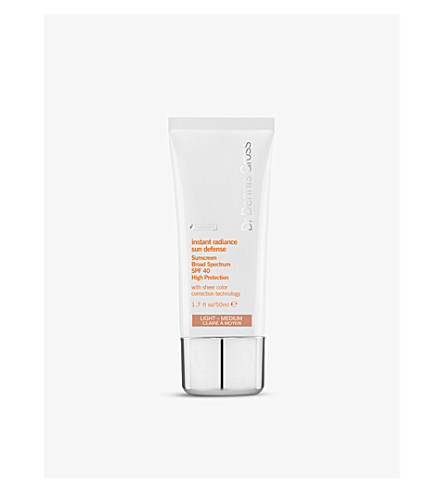 DR DENNIS GROSS SKINCARE Instant Radiance Sun Defense Sunscreen Broad Spectrum 50ml
