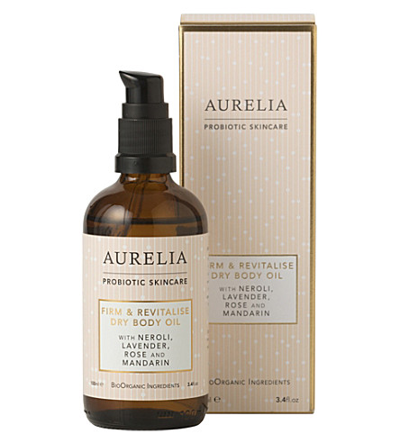 AURELIA PROBIOTIC SKINCARE Firm & Revitalise Dry Body Oil 100ml