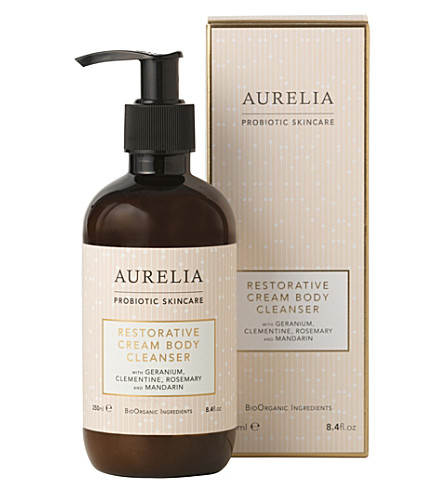 AURELIA PROBIOTIC SKINCARE Restorative Cream Body Cleanser 250ml