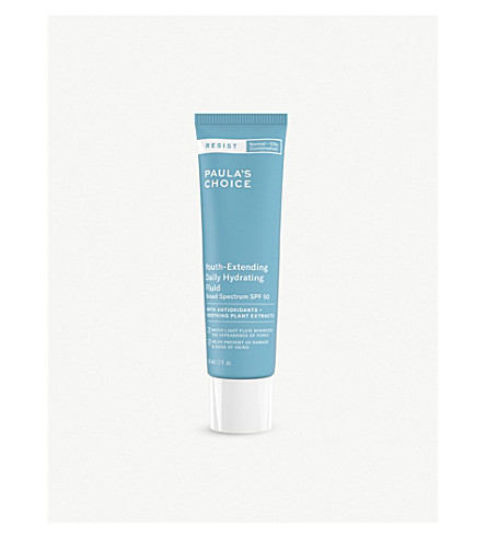 PAULA'S CHOICE Resist Youth-Extending Daily Hydrating Fluid SPF 50 60ml